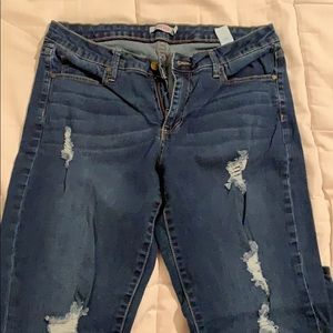 JustFab ankle/crop jeans